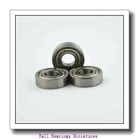 4mm x 13mm x 5mm  ZEN s624-2z-zen Ball Bearings Miniatures